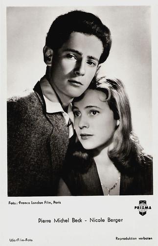 Nicole Berger and Pierre Michel Beck in Le Blé en herbe (1954)