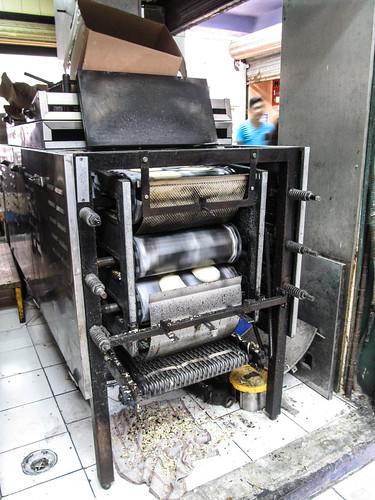 Merida: le marché municipal Lucas de Gálvez et sa fabrication de tortillas