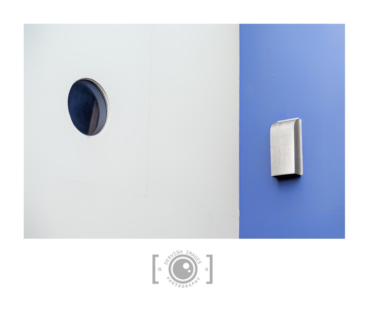 White - Blue