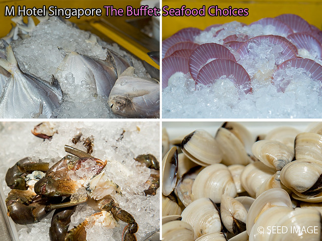 M Hotel Singapore The Buffet Seafood