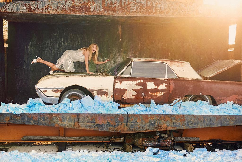 Анна Эверс — Фотосессия для «W» 2016 – 4