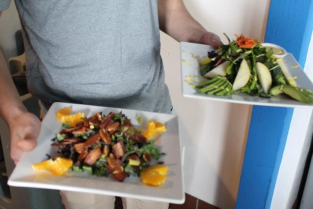 Fresh Salads at Bay of Pines