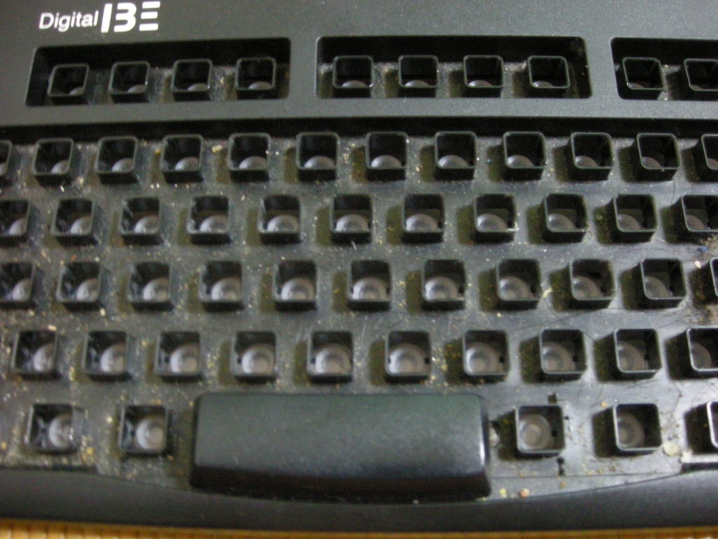 wash the keyboard 2
