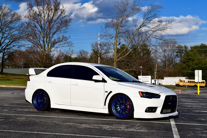 this image has been resized click this bar to view the full image - Mitsubishi Evo X Wicked White