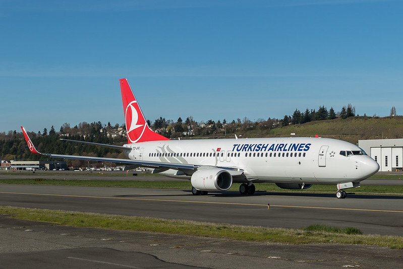 737-800 TC-JVL Turkish Airlines 2016-3-17 1