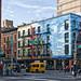 East Village Sky Building by Joel Raskin
