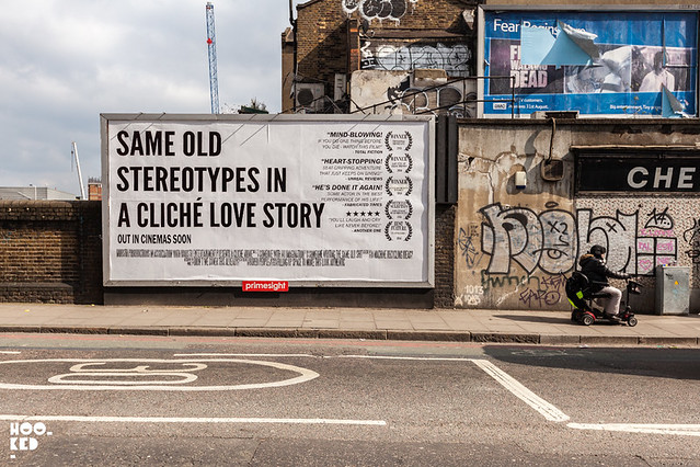 Mobster, Hijacked Billboard, London.