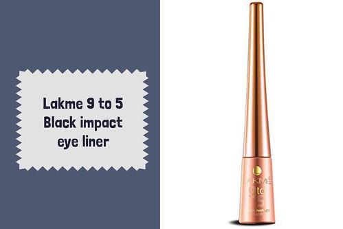Lakme Eyeliner Price - Lakme 9 to 5 Black Impact Eyeliner