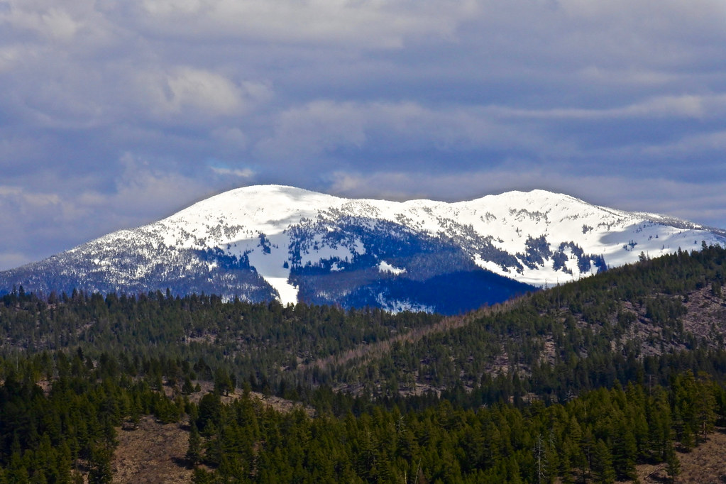 Baldy Mountain from the Big Hole road