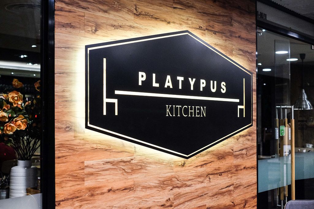 Platypus Kitchen Sign
