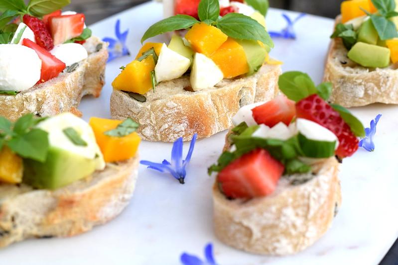 Frukt-caprese