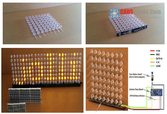 26402898521 13e135a90d b - arduino 8x8 led matrix projects