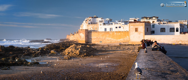Essaouira in evening light