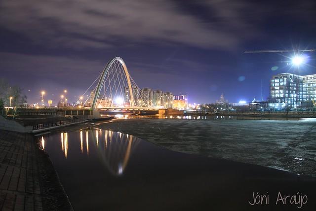 Astana by night