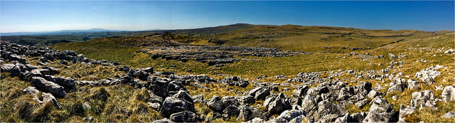 Pano-Iphone above Malham