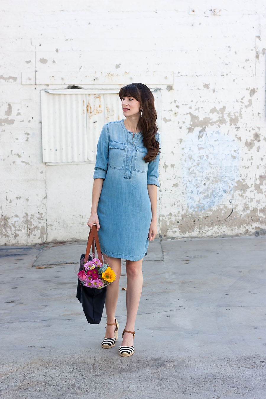 J.Crew Dress, Summer Outfit