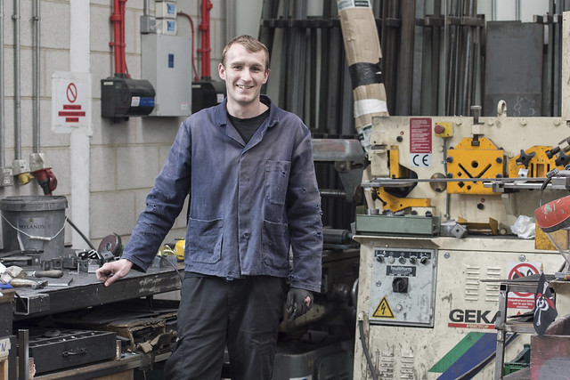 Leslie Hamilton, Scenic Metal Work Apprentice
