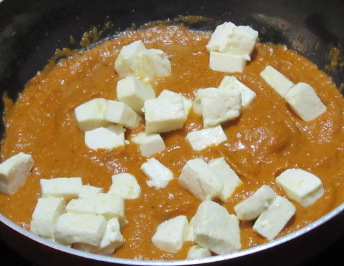 how to make paneer sabji