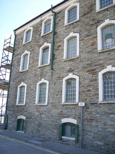 Laxey Warehouse windows