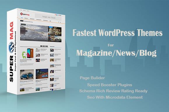 Creativemarket Supermag v1.0 – Fast Material Magazine Theme
