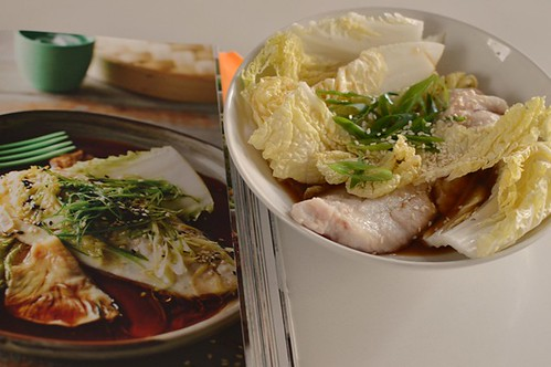 Steamed snapper with ginger, tamari and sesame