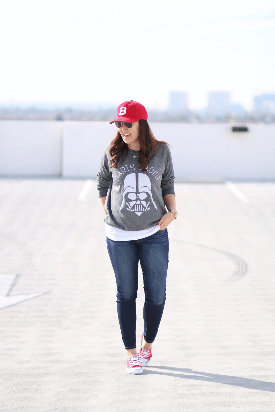 simplyxclassic, miriam gin, star wars, darth vader, sweatshirt, jcrew, crewcuts, old navy, toddler fashion, blogger, lifestyle, how to wear red, chucks, converse, orange county, mommy blog
