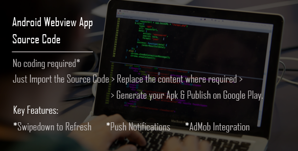 Codecanyon Android WebView App Source Code