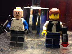 Lego Star Wars Purist Han Solo and Captain Rex (rebels)