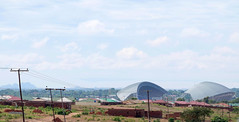 Lilongwe's new stadium (under construction)