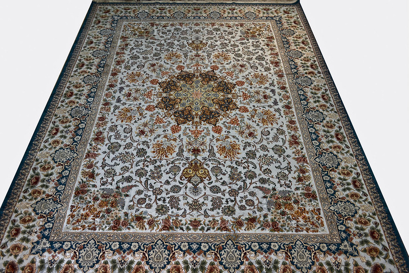 Isfahan 3x4 M silk 95_ perisna rug