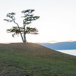 Atardecer en el Baikal