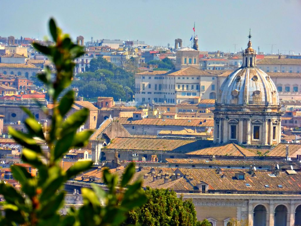 View of Rome from Janiculum Hll