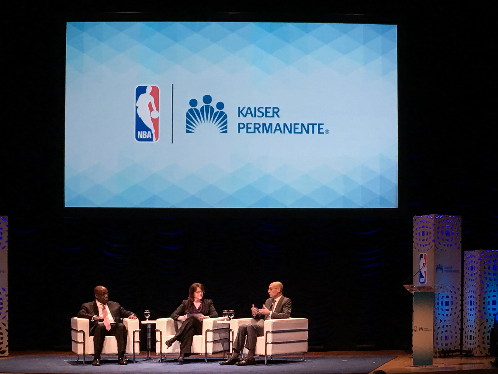 TotalHealthForum with Kaiser Permanente and NBA 0400