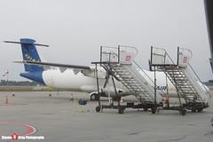 HB-AFL - 222 - Famair Europe - ATR ATR-72-202F - Katowice, Silesian, Poland - 151011 - Steven Gray - CIMG9270