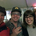 With Aaron and Briggsy (hand accident style) by emdot