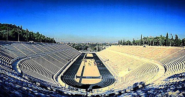 Athens Series   Panathenaic Stadium #architecture #Athens #Greece #travel