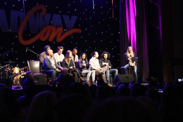 Hamilton Panel at BroadwayCon