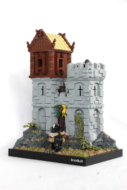 Little Lego Castle Is Big On Detail The Brothers Brick