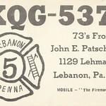 The Fireman - Lebanon, Pennsylvania