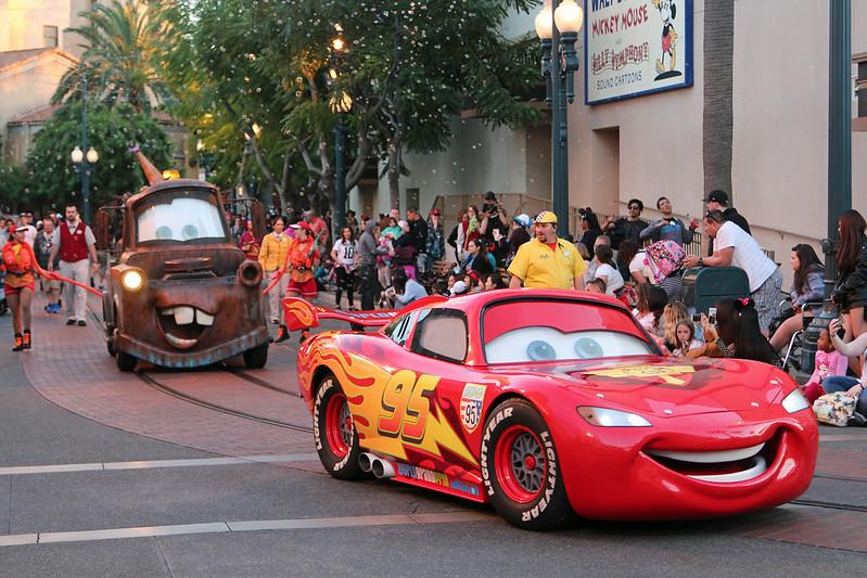 Pixar Parade in California Adventure