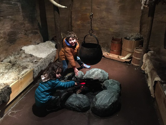 Dublin attractions for families: the kids in a Viking home