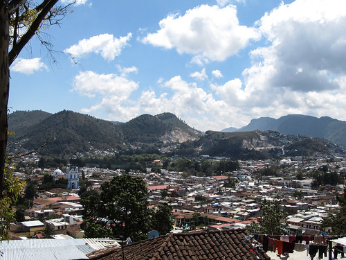 San Cristóbal de las Casas: vue depuis la Colline San Cristóbal