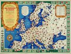 Map of Europe, 1946