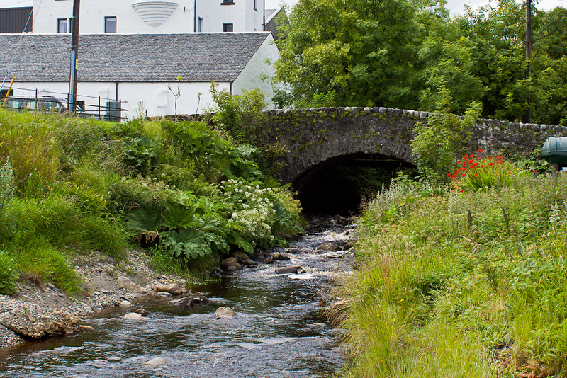 Stream at Jura Distillery