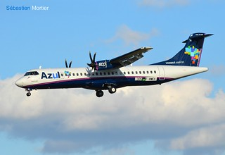 ATR.72-600 AZUL TAP EXPRESS F-WWEK 1305 TO PR-AKI BECAME CS-DJB TAP EXPRESS 08 03 16 TLS