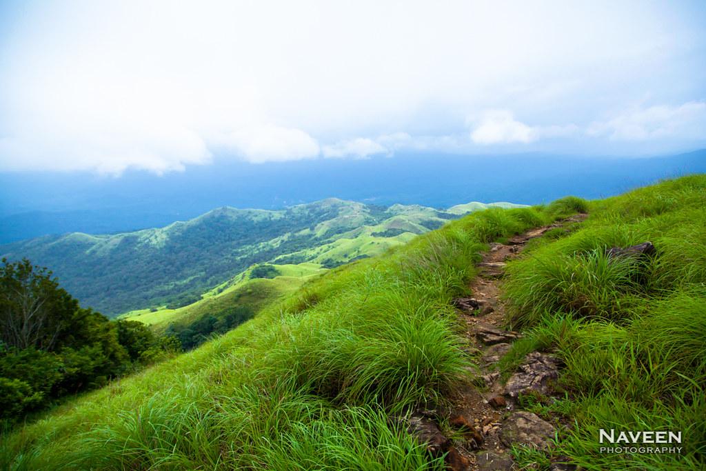 Kumara Parvatha Trekking | Downhill trail from Kal Mandapam