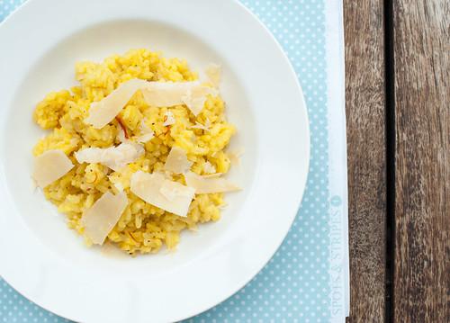 Lemon & Saffron Risotto