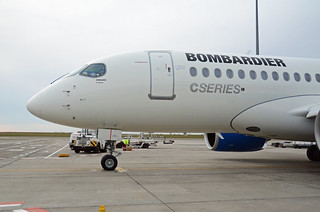 Bombardier CS100 at Brussels Airport | by Brussels Airport