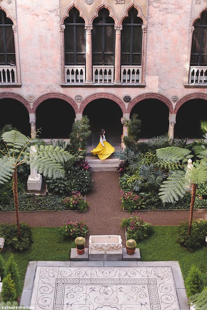 isabella stewart gardner art museum boston italian courtyard garden