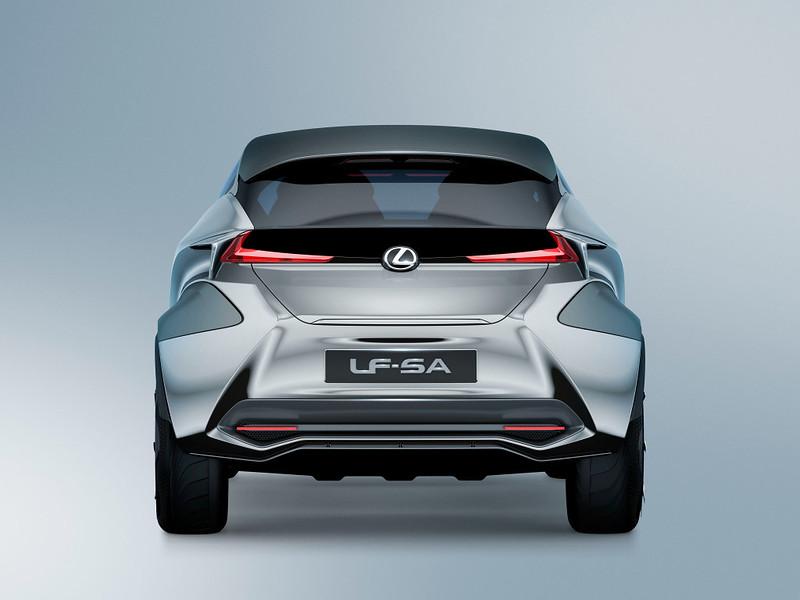 Небольшой Lexus LF-SA